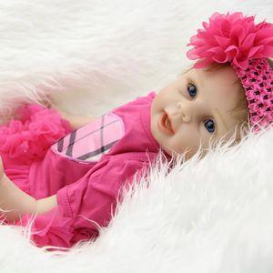 POUPÉE 22 Pouce Reborn Silicone Baby Doll Bebe Reborn Lif