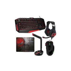 PACK CLAVIER - SOURIS Fusion Pack Pro Gamer Ultimate MKH3 Clavier + Sour