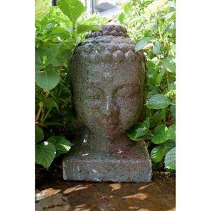 FONTAINE DE JARDIN LASA Fontaine de jardin bouddha céramique 44x27x27