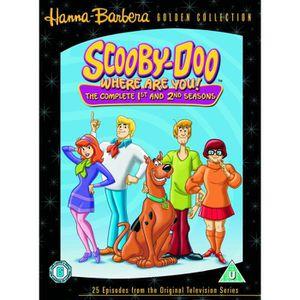 DVD DESSIN ANIMÉ SCOUBIDOU OU ES-TU ? Scooby-Doo - Intégrale saison