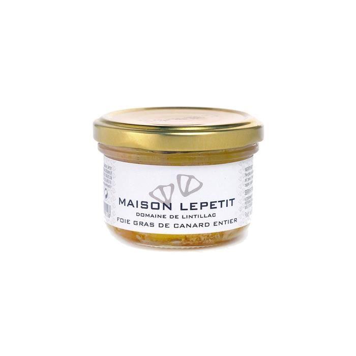 FOIE GRAS lot 6 foie gras de canard entier 100 gr maison lep