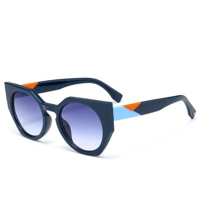 a64ab543d412b7 Nouvelles dames lunettes de soleil chat oeil personnalité grandes lunettes  de soleil