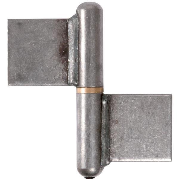 paumelle souder 100 mm noeud plat clemenson achat vente charni re paumelle. Black Bedroom Furniture Sets. Home Design Ideas