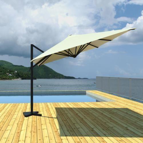 parrassol rotatif achat vente pas cher. Black Bedroom Furniture Sets. Home Design Ideas