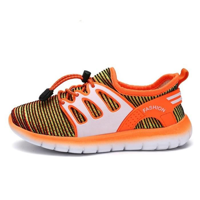 4f1584239465f IZTPSERG Baskets running Enfant Fille Garçon Orange Orange - Achat ...