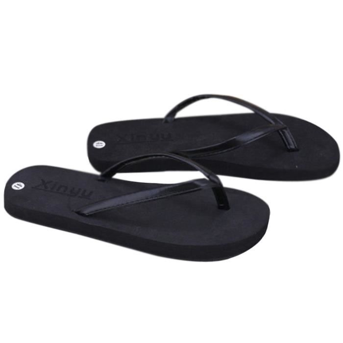 Sandale Femme Été Nouvelle Mode Qualité Supérieure Anti-Dérapage Femme Respirantes Confortables ZX-x102noir-41 gnWqhD6