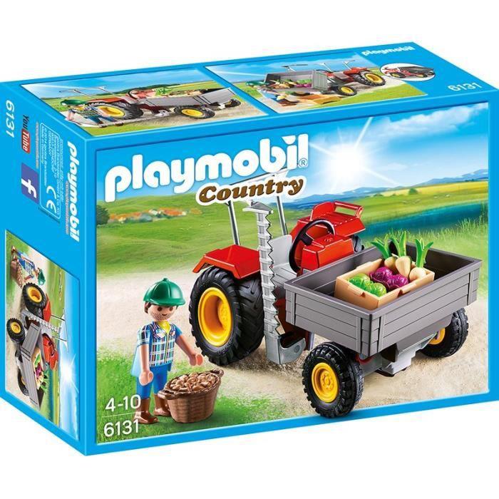playmobil 6131 fermier avec faucheuse achat vente. Black Bedroom Furniture Sets. Home Design Ideas