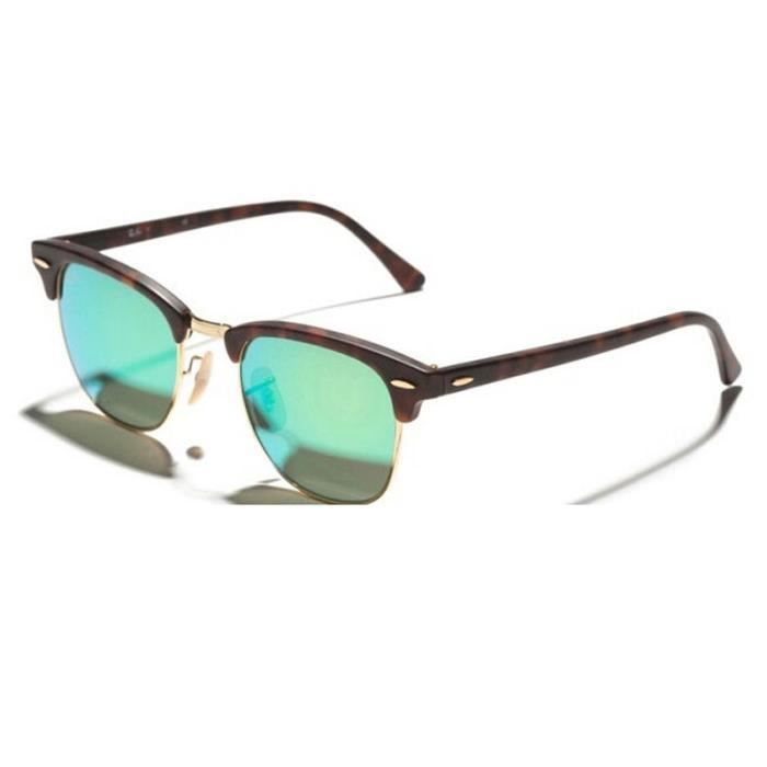 51mm RAY-BAN CLUBMASTER Lunettes de soleil RB3016 1145/19