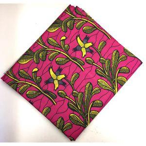 Wax tissu africain pagne - Achat / Vente Wax tissu africain pagne pas cher - Cdiscount