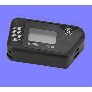 COMPTEUR Compteur d'heure horaire sans fil couleur NOIR pou