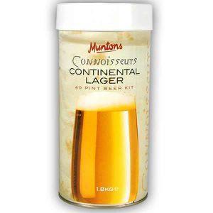BIÈRE Les connaisseurs de bière Muntons Continental