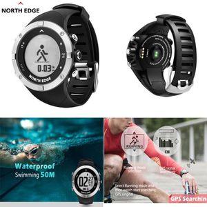 MONTRE Trois étapes de la montre-bracelet Hommes Sports d