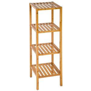 etagere bambou achat vente etagere bambou pas cher soldes d s le 10 janvier cdiscount. Black Bedroom Furniture Sets. Home Design Ideas