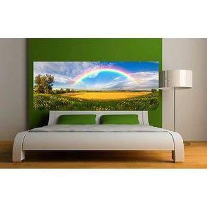 tete de lit papier peint trompe loeil tete de lit papier peint with tete de lit papier peint. Black Bedroom Furniture Sets. Home Design Ideas
