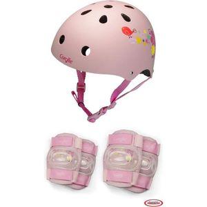CASQUE ENFANT COROLLE - Casque bol + set de protection