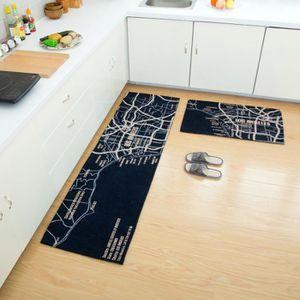 Tapis de cuisine devant evier gris - Achat / Vente pas cher