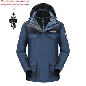 Pas Ski Empiècement Homme Vert Bleu Cher Watts Prix Gonne1 Veste ax8qpd8P