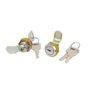 SERRURE - BARILLET sourcingmap® Culasse métal tiroir boîte aux lettre