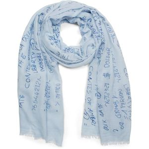 Echarpe femme bleu clair - Achat   Vente pas cher 37842bfe9b3