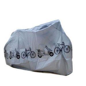 PROTECTION DE GARAGE TRIXES Bâche Grise d'Extérieur pour Moto Vélo Rési