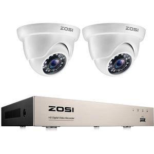 CAMÉRA DE SURVEILLANCE ZOSI CCTV Système de Sécurité HD Caméra de Surveil