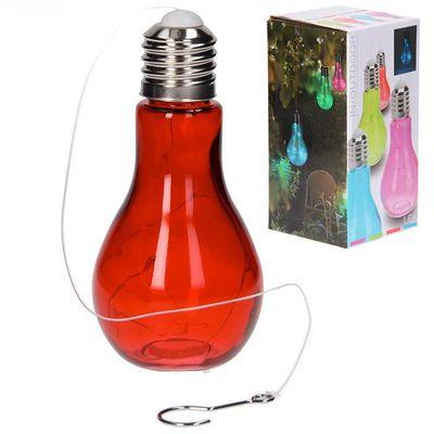 Lampe Ampoule Led Design A Suspendre Rouge Achat Vente Lampe
