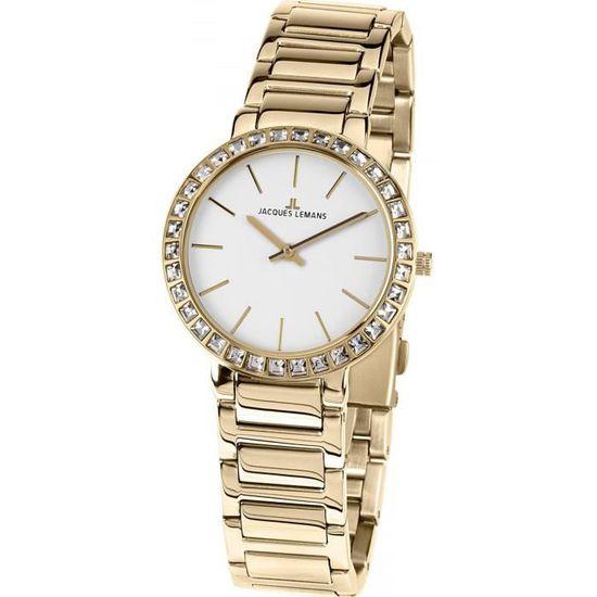 682561c6a5 Jacques Lemans MILANO 1-1843.1E Montre Bracelet pour femmes Classique &  Simple - Achat / Vente montre Jacques Lemans MILANO - Cdiscount