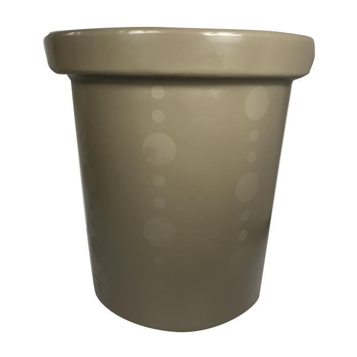 Pot de fleurs Delight - 420 L - Marron