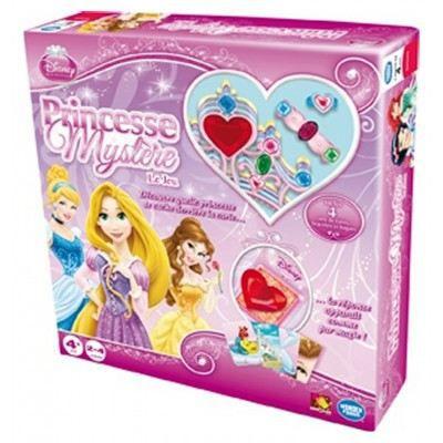 Princesse mystère : Princesses Disney - Chaque joueuse dispose d'un diadème, d'une bague et d'un bracelet. La gagnante est celle qui parvient à les garnir de bijoux ! Pour ce... Voir la présentationCARTE DE JEU - PORTE-CARTE DE JEU -CAHIER RANGE-CARTE DE