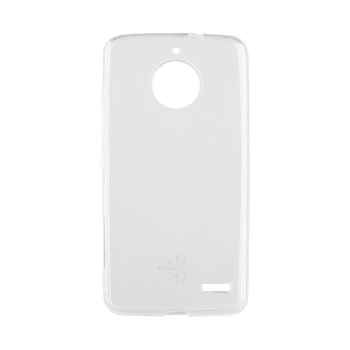 MADEFORMOTO Coque crystal soft - Motorola E4