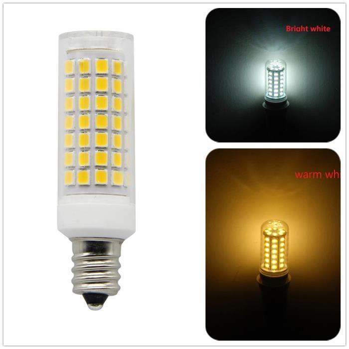 Smd 88 Leds 2835 R88x 6w 2133 Ampoule Maïs E12 Avec Lampe Chip Couvercle xqaREYqw