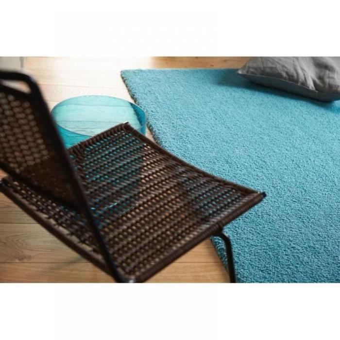 Contzencolours tapis bleu clair 170x240 cm achat vente Grand tapis clair