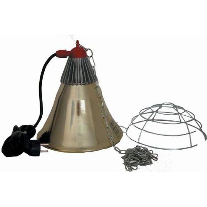 Kerbl Protecteur Lampe Infrarouge Alu 5m Pour Poulailler Achat