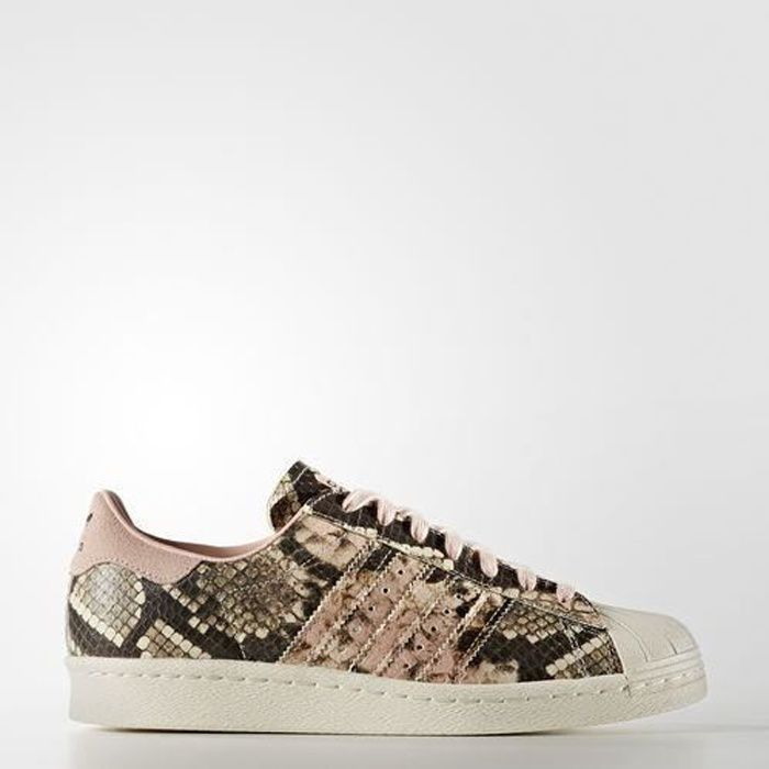 Basket ADIDAS Superstar 80s New Bold W AQ0872 AGE ADULTE, COULEUR BLANC, GENRE FEMME, TAILLE 40