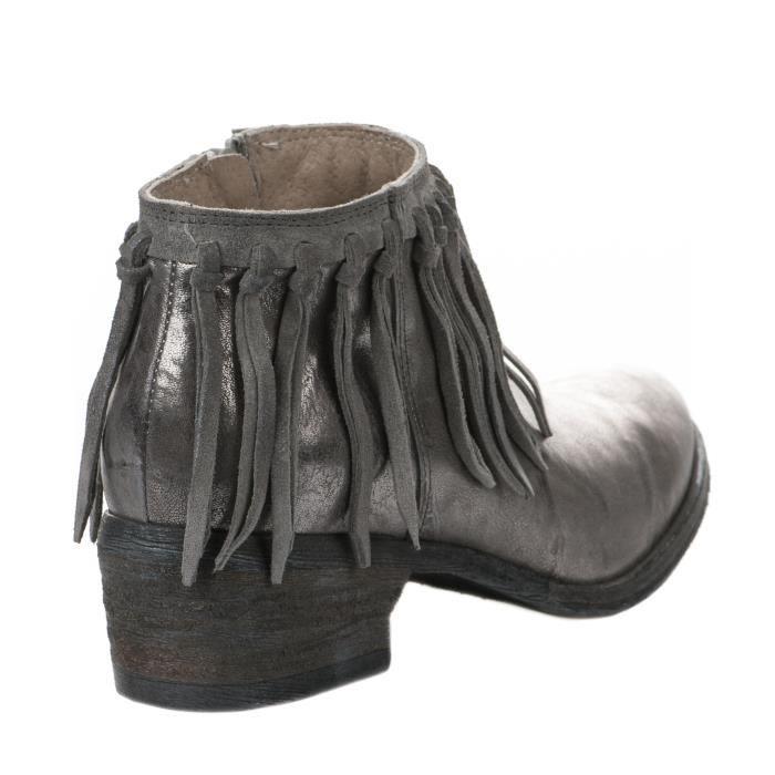 2651d835c4b Femme Achat Millim Boots Khrio 7502 Vente Gris O7dcq4