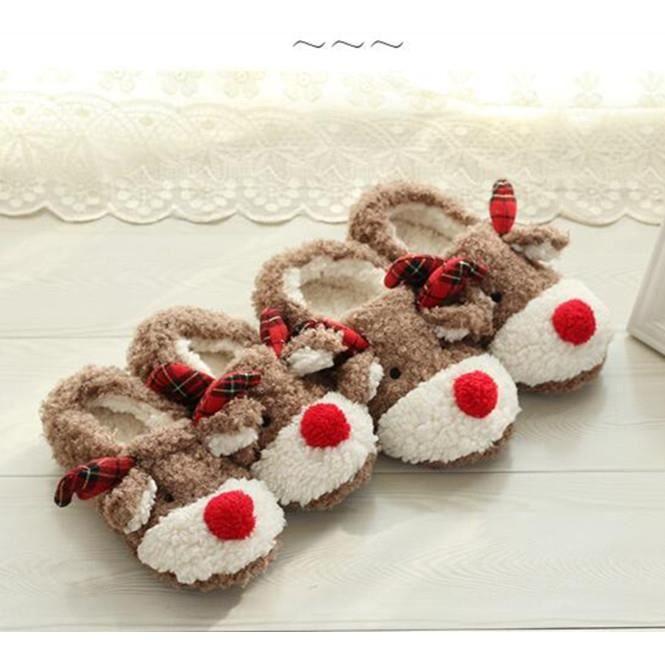 Pantoufle en wapiti Chausson Chaussure en CotonPointure Européennes Femme Confort et Doux CqnSMMLs