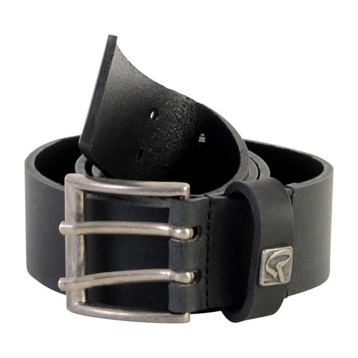 Ceinture Redskins Aspen Noir Noir - Achat   Vente ceinture et boucle ... 1d075550244