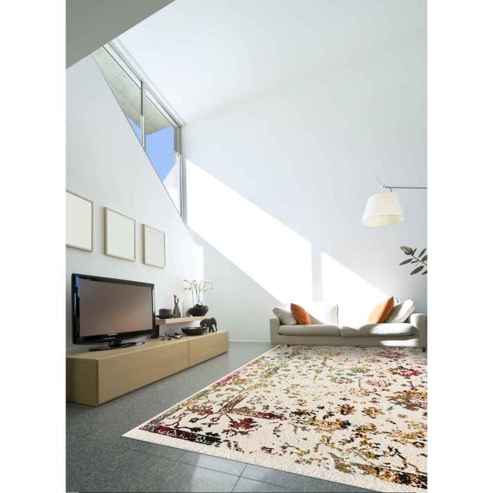 Tapis salon ORIENTAL DESTRUCTURE 6 multicouleur 80x150, par Unamourdetapis,  Tapis moderne