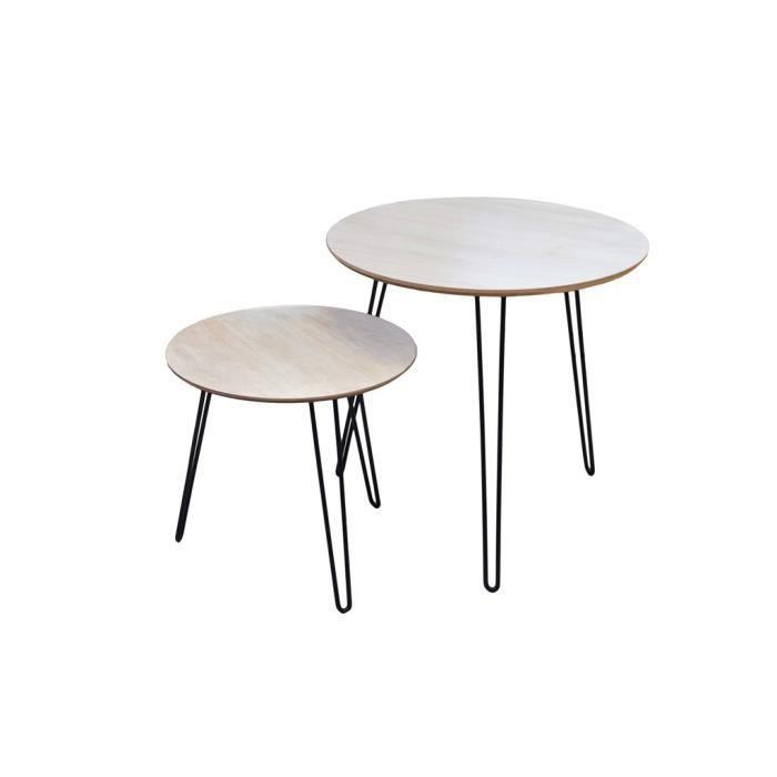 Table salon gigogne achat vente table salon gigogne - Tables gigognes pas cher ...