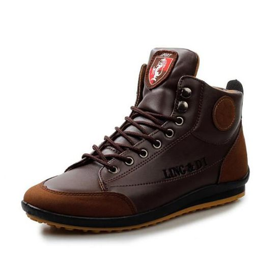Montantes Chaussure Shoes Mode Basket Homme Chaussures Marron Skate Ibf7gvyY6