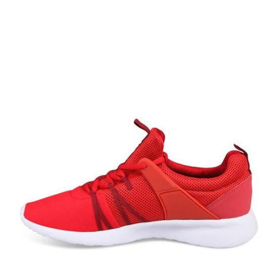 Achat Homme Baskets Chaussea Unyk Basket Vente Rouge hdxtsrCQ