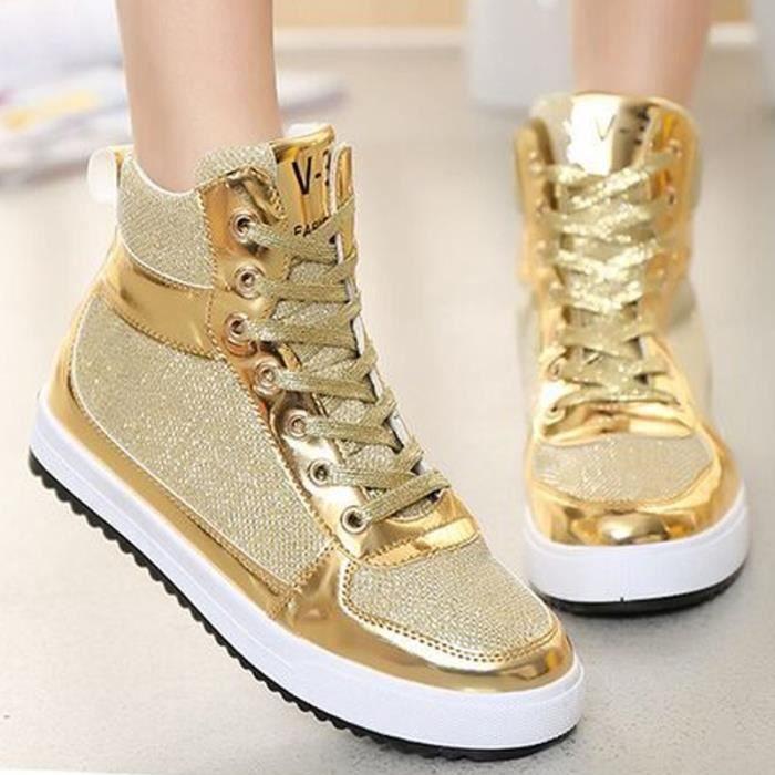 Basket Haut-top chaussures Femme