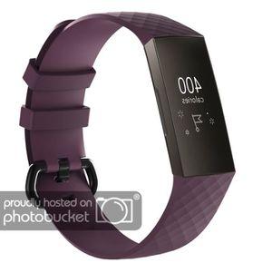 BRACELET DE MONTRE Bracelet de montre remplacement en silicone violet