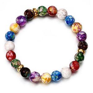 BRACELET - GOURMETTE Bracelet Mala Yoga en Perles Naturelles Améthystes