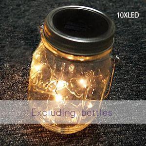 LAMPE A POSER Lampe créative Solaire de Mason Longue Durée de vi