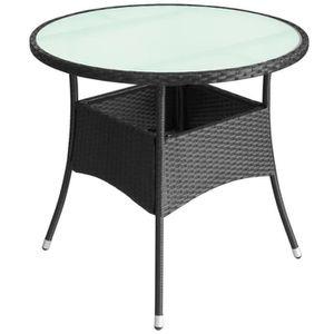 Table jardin resine