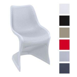 CHAISE CLP Chaise Design BLOOM En Plastique De Ja
