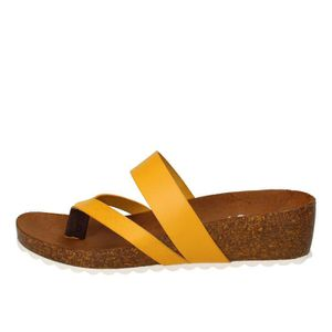 Cuir Vente Femme Achat Chaussures Jaune 5wRqnY0