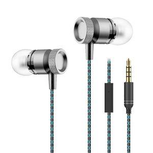 CASQUE - ÉCOUTEURS Ecouteurs Métal pour HONOR 7 avec Micro Kit Main L