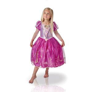 DÉGUISEMENT - PANOPLIE Déguisement Premium Ballgown Raiponce : 7/8 ans ai